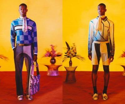 Ahluwalia Explores '70s Styling for SS22 Menswear Collection