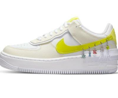 "The Nike Air Force 1 Shadow ""Have A Nike Day"" Features Anklet-Like Details"
