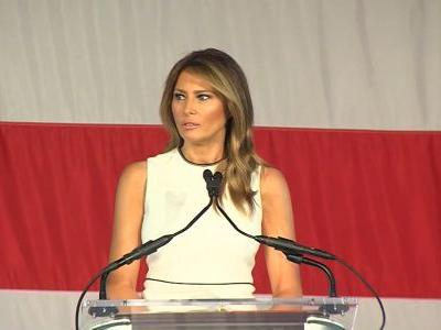 First lady Melania Trump honored with 2020 'Woman of Distinction' award