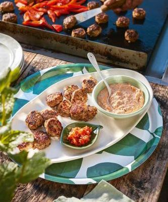 Barbecue recipe: Pork and Lemongrass Fritters with Kimchi Mayonnaise