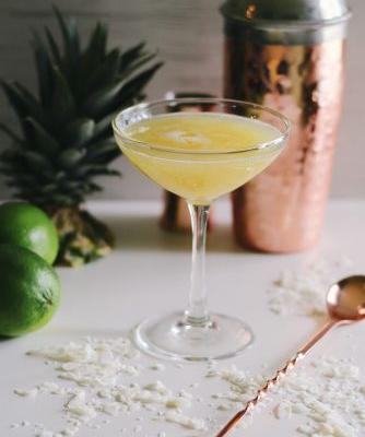 Coconut-Pineapple Mai Tai