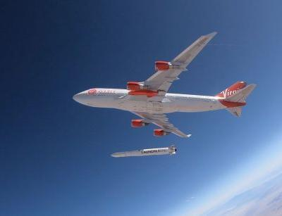 Virgin Orbit performs a successful drop test of its LauncherOne rocket launch system