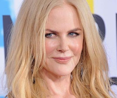 Nicole Kidman Is Unrecognizable in Her New Brunette Shaggy Mullet Haircut