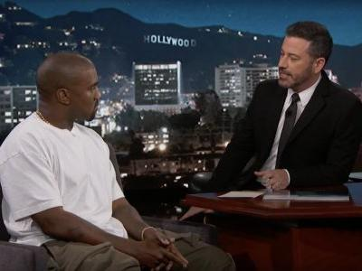 Kanye Talks Trump, Porn, Bipolar Disorder On Kimmel