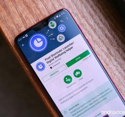 Get Google's Digital Wellbeing in your app drawer with Pixel Shortcuts