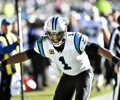 Panthers QB Cam Newton tabbed as NFC Offensive Player of Week