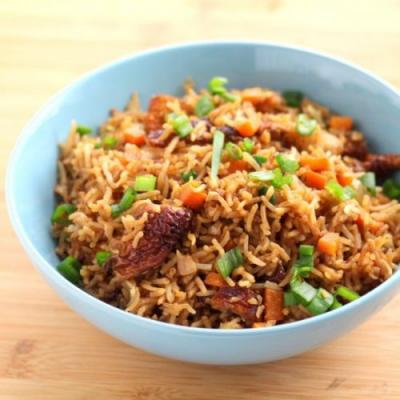One Pot Roasted Meat Rice
