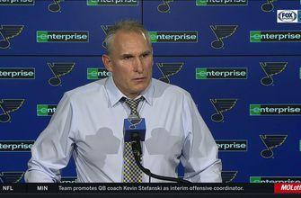 Craig Berube: 'I thought our game was solid all the way through'