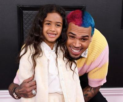 Chris Brown brings 5-year-old daughter Royalty to Grammys 2020