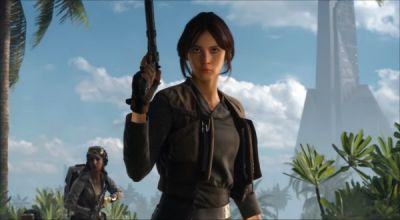 Jyn Erso Comes To Star Wars: Battlefront In New Rogue One DLC Trailer