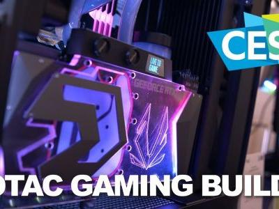 Zotac Shows Off The Liquid Cooled RTX Arctic Storm at CES 2019