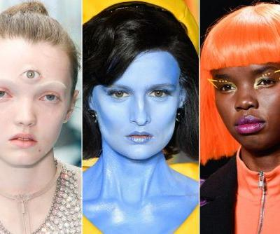Halloween Makeup Inspired by the Fall 2018 Catwalks