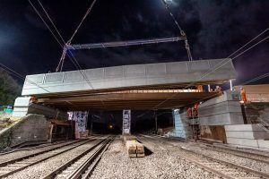 West Coast Main Line Reopens After Major Phase Of Bridge Replacement In Crewe