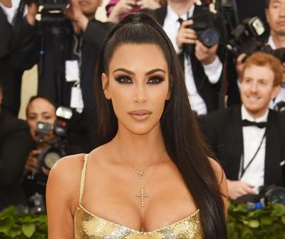 Kim Kardashian says North wants to wear her Met Gala gown to the prom