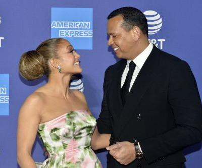 Alex Rodriguez Caught Jennifer Lopez Having the Time of Her Life Dancing in the Rain at Home