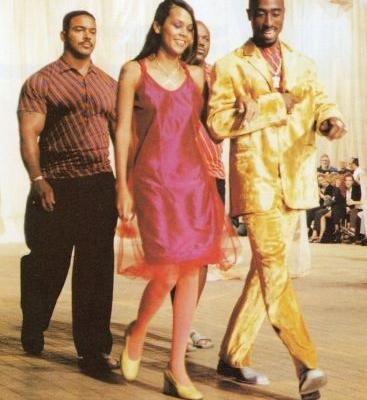 Remember that time Tupac walked in a Versace show?