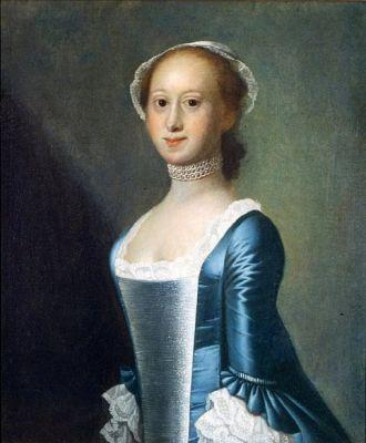 18C American Women by Jeremiah Theus 1716-1774