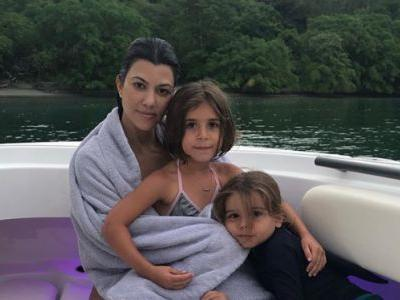 Kourtney Kardashian Shares Sweet Photo With Penelope and Reign Disick: 'Focus on What You Love'