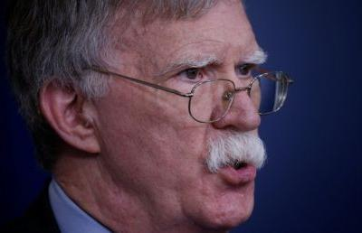 US military 'ready to go': Bolton warns Iran not to 'mistake US prudence for weakness'
