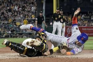 Freese 5 RBIs, single in 9th lifts Pirates over Mets 5-4