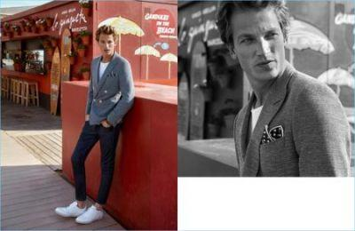 Hugo Sauzay Brushes Up on Smart Tailoring for KİP Spring '17 Campaign