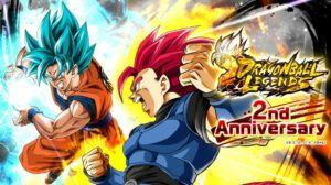 Dragon Ball Legends celebrates second anniversary with new characters