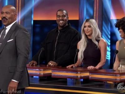 Watch Kanye West On Family Feud
