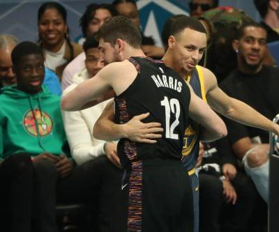 Nets' Joe Harris takes 3-point crown from Stephen Curry
