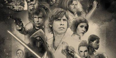 Star Wars Celebration 2017 Poster Marks 40 Years of Star Wars