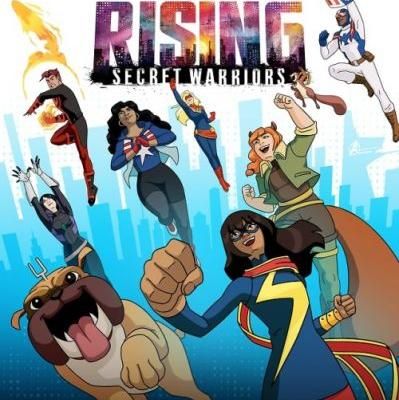 "Here's your look at the new ""Marvel Rising: Secret"