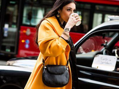 LFW: Yellow Is Trending On The Streets