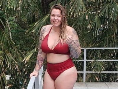 Hot Mama Alert! 'Teen Mom 2' Star Kailyn Lowry Flaunts Her Curves in a Red Bikini