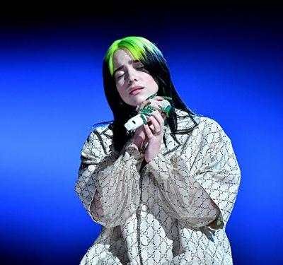 Watch Billie Eilish's stunning performance of 'When the Party's Over' at the Grammys