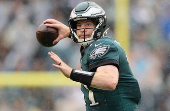 Carson Wentz throws an absolute laser for his first TD pass since returning from injury in Eagles' win
