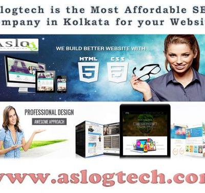 Aslogtech is the Most Affordable SEO Company in Kolkata for your Website