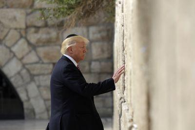 President Trump makes historic visit to the Western Wall