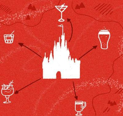 The Closest Alcoholic Drink to Every Ride at Disney World