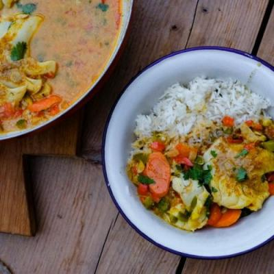 Curried Cod Stew