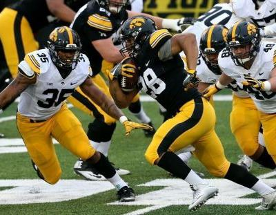 Hawkeyes end spring with a promising performance