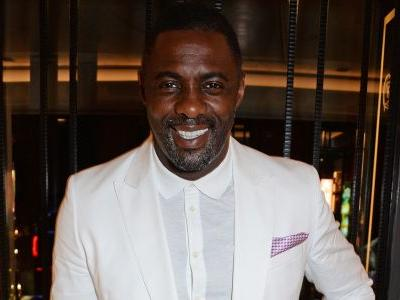Idris Elba was spotted on a yacht in his underwear