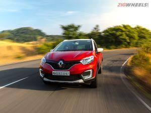 Renault Captur Petrol Review Road Test