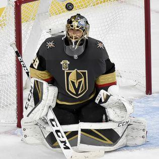 Tickle Me, Fleury: Vegas goalie tickles Jets player's ear
