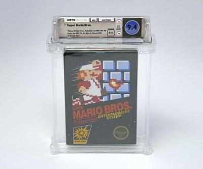 Sealed Super Mario Bros. Sells for Record-Breaking Price
