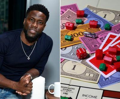 Kevin Hart to star in and produce Monopoly movie for Lionsgate