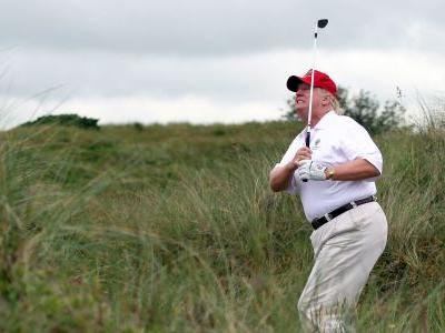 Donald Trump might extend his planned UK visit to go play golf in Scotland