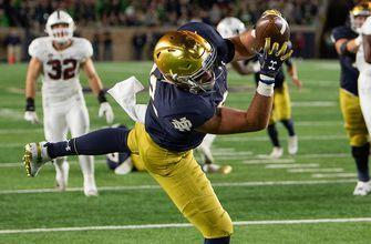 No. 8 Notre Dame pulls away from No. 7 Stanford 38-17