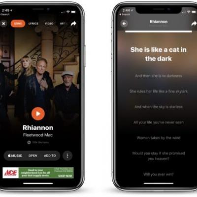 Shazam for iOS Gains Revamped Interface, Real-Time Lyric Syncing Feature