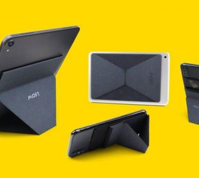 MOFT X fold flat smartphone and tablet stands
