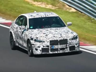 Here's The Next BMW M3 Making Angry Straight-Six Noises At The 'Ring