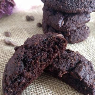 Chocolate Coconut Flour Cookies